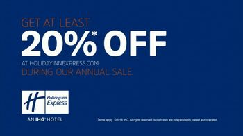 Holiday Inn Express Annual Sale TV Spot, 'Be The Readiest' - Thumbnail 9