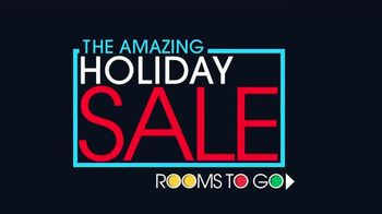 Rooms to Go Holiday Sale TV Spot, 'Getting the Picture' - Thumbnail 1