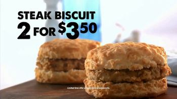 Bojangles' Steak Biscuit TV Spot, 'Made From Scratch' - Thumbnail 8