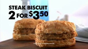 Bojangles' Steak Biscuit TV Spot, 'Made From Scratch' - Thumbnail 9