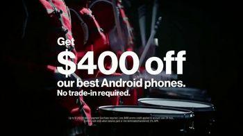 Verizon TV Spot, 'Drummer: Black Friday: Apple Music' - Thumbnail 4