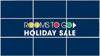 Rooms to Go Holiday Sale TV Spot, 'Reclining Leather Sectional' - Thumbnail 1