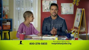 St. Jude Children's Research Hospital TV Spot, 'Ayuda a los niños con cáncer' Featuring Luis Fonsi [Spanish] - 86 commercial airings