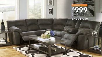 Ashley HomeStore Black Friday TV Spot, 'Sofas, Sectionals, and Queen Beds' Song by Midnight Riot - Thumbnail 7