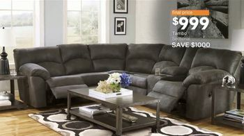Ashley HomeStore Black Friday TV Spot, 'Sofas, Sectionals, and Queen Beds' Song by Midnight Riot - Thumbnail 8