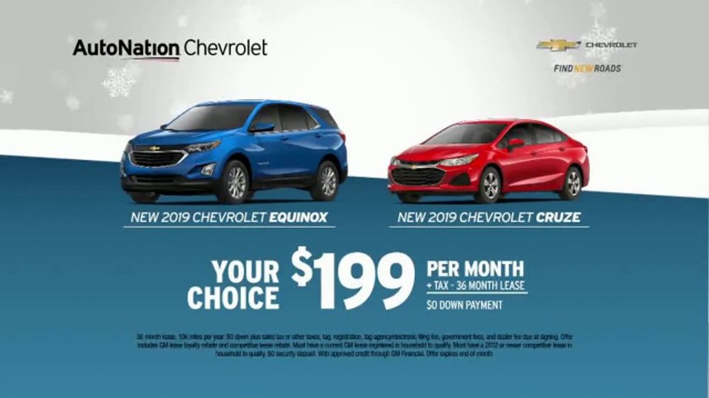 AutoNation Year End Event TV Commercial, 'Equinox or Cruze'