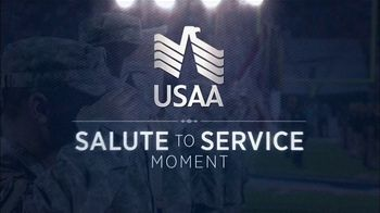 USAA TV Spot, 'NFL Salute to Service: Seahawks Thanksgiving' - Thumbnail 1