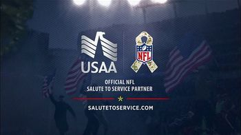 USAA TV Spot, 'NFL Salute to Service: Seahawks Thanksgiving' - Thumbnail 10