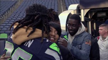 USAA TV Spot, 'NFL Salute to Service: Seahawks Thanksgiving' - Thumbnail 3
