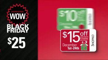 Shopko Black Friday TV Spot, 'Games, Comforters and Cat Litter' - Thumbnail 3