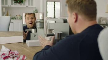 Keurig K-Café TV Spot, 'Holiday Surprise' Featuring James Corden - 156 commercial airings