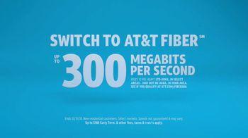 AT&T Internet Fiber TV Spot, 'Mixed Up' - Thumbnail 8
