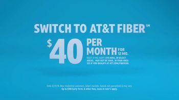 AT&T Internet Fiber TV Spot, 'Mixed Up' - Thumbnail 9