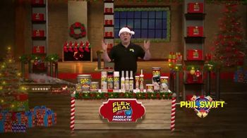 Flex Seal TV Spot, 'Holidays: Family of Products' Featuring Phil Swift - Thumbnail 2