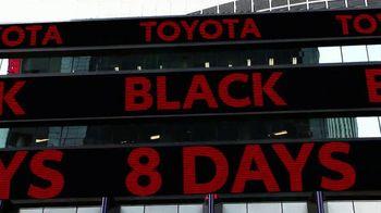 Toyota Black 8 Days TV Spot, 'Extraordinary Deals' [T2] - Thumbnail 2