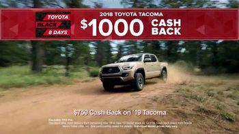 Toyota Black 8 Days TV Spot, 'Extraordinary Deals' [T2] - Thumbnail 5
