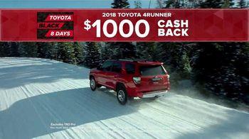 Toyota Black 8 Days TV Spot, 'Extraordinary Deals' [T2] - Thumbnail 6