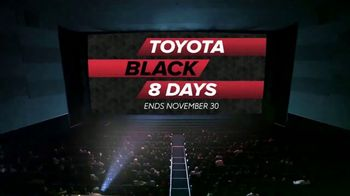 Toyota Black 8 Days TV Spot, 'Extraordinary Deals' [T2] - Thumbnail 9