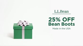 L.L. Bean Black Friday Sale TV Spot, 'Holidays: Bean Boots' - Thumbnail 1