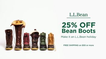L.L. Bean Black Friday Sale TV Spot, '2018 Holidays: Bean Boots' - Thumbnail 10