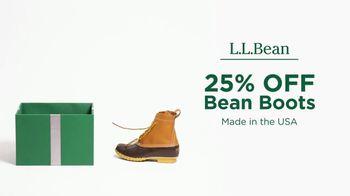 L.L. Bean Black Friday Sale TV Spot, 'Holidays: Bean Boots' - Thumbnail 3