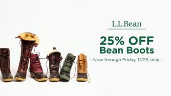 L.L. Bean Black Friday Sale TV Spot, '2018 Holidays: Bean Boots' - Thumbnail 7