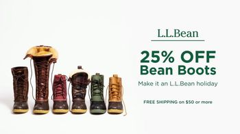 L.L. Bean Black Friday Sale TV Spot, '2018 Holidays: Bean Boots' - Thumbnail 8