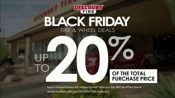 Discount Tire Black Friday Sale TV Spot, 'Traction, Style & Peace of Mind'