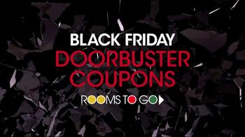 Rooms to Go Black Friday TV Spot, 'Doorbuster Coupons'