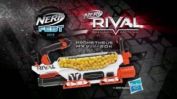 Nerf Rival Prometheus TV Spot, 'Nerf Fest 2018: 200 Round Capacity'