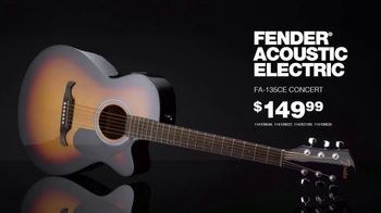 Black Friday: Fender Acoustic Electric and Pedals thumbnail