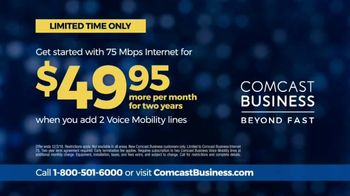 Comcast Business Cyber Week Special TV Spot, 'Deadlines' - Thumbnail 9