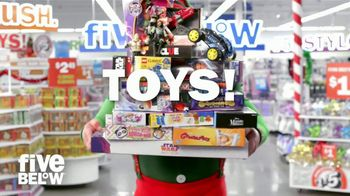 Five Below TV Spot, '2018 Holidays: Toy Shop'