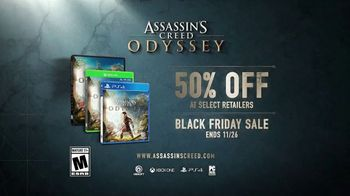 Assassin's Creed Odyssey Black Friday Sale TV Spot, 'Photo Mode Trailer' - Thumbnail 9