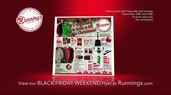 Runnings Black Friday Weekend Sale TV Spot, 'Garage Heater, Drill Kit and Outwear' - Thumbnail 2