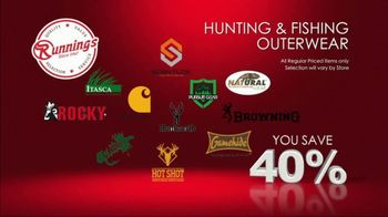 Runnings Black Friday Weekend Sale TV Spot, 'Garage Heater, Drill Kit and Outwear' - Thumbnail 5