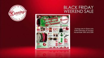 Runnings Black Friday Weekend Sale TV Spot, 'Garage Heater, Drill Kit and Outwear'