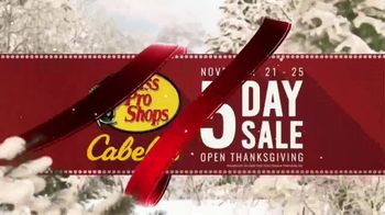Bass Pro Shops 5 Day Sale TV Spot, 'Jerseys, Fishing Combos & Meat Processing' - Thumbnail 4