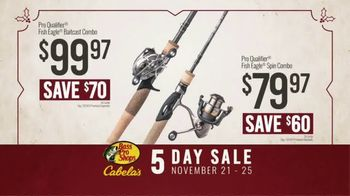 Bass Pro Shops 5 Day Sale TV Spot, 'Jerseys, Fishing Combos & Meat Processing' - Thumbnail 6