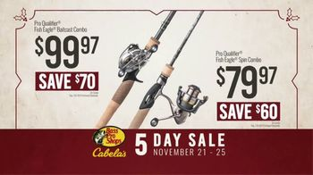 Bass Pro Shops 5 Day Sale TV Spot, 'Jerseys, Fishing Combos & Meat Processing' - Thumbnail 7