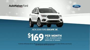 AutoNation Year End Event TV Spot, 'Ford Escape' - Thumbnail 6