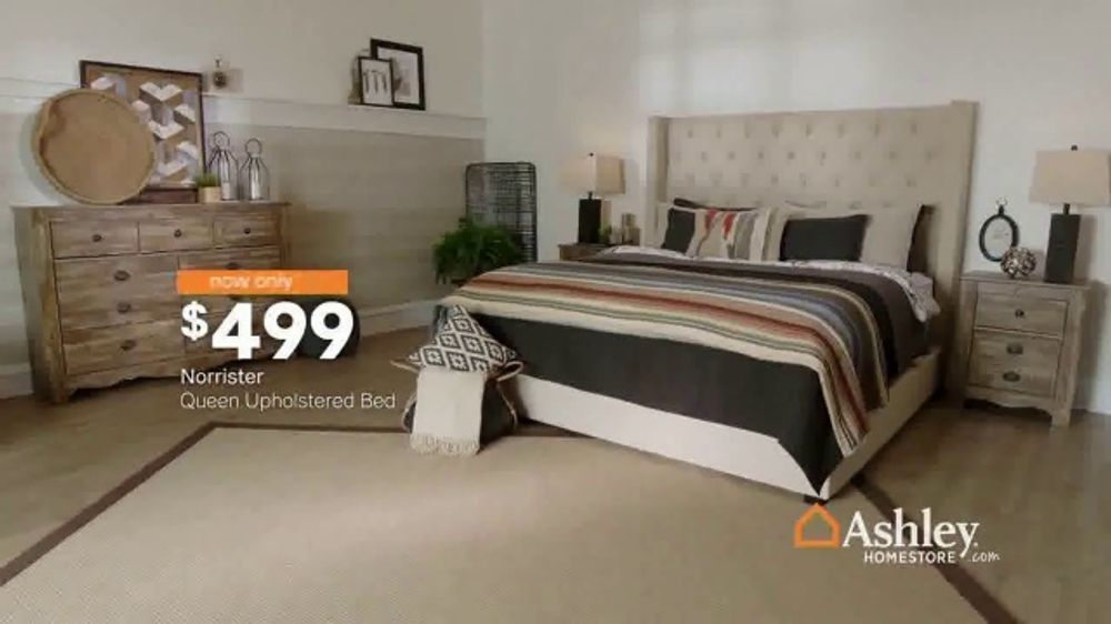 Sensational Ashley Homestore Black Friday Sale Tv Commercial Going On Now Queen Beds And Sofas Song By Midnight Riot Video Caraccident5 Cool Chair Designs And Ideas Caraccident5Info