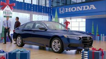 Happy Honda Days TV Spot, '2018 Holidays: Six Million Dollar Man' [T2] - Thumbnail 3