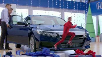 Happy Honda Days TV Spot, '2018 Holidays: Six Million Dollar Man' [T2] - Thumbnail 4