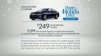 Happy Honda Days TV Spot, '2018 Holidays: Six Million Dollar Man' [T2] - Thumbnail 8