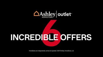 Ashley HomeStore Outlet Black Friday Sale TV Spot, 'Six Incredible Offers' - Thumbnail 1