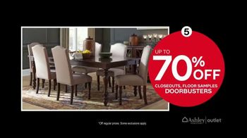 Ashley HomeStore Outlet Black Friday Sale TV Spot, 'Six Incredible Offers' - Thumbnail 6