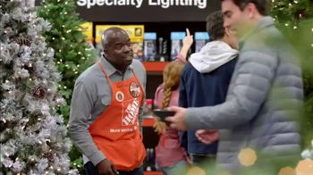The Home Depot Black Friday Savings TV Spot, 'Magical Touches: Artificial Trees' - Thumbnail 1