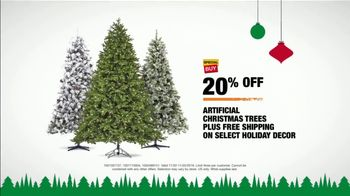 The Home Depot Black Friday Savings TV Spot, 'Magical Touches: Artificial Trees' - Thumbnail 10