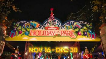 Six Flags Cyber Sale TV Spot, 'Holiday in the Park' - Thumbnail 1